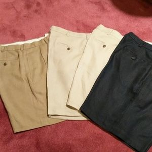 Brooks Brothers four pair linen shorts